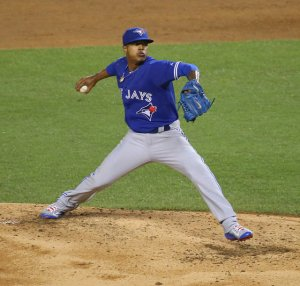 Marcus Stroman delivers a pitch against the Yankees, Sept. 12. Photo by Arturo Pardavila III licensed by CC BY 2.0.