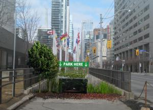 PARK HERE (Artist Rendering), Katy Chey. Photo published with permission from Scotiabank Nuit Blanche 2015.